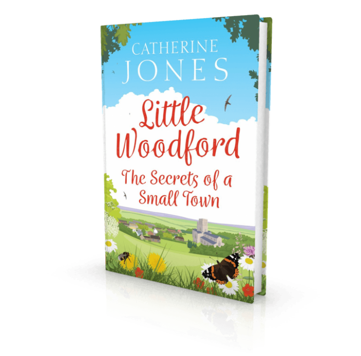 SECRETS OF A SMALL TOWN by Catherine Jones is just published